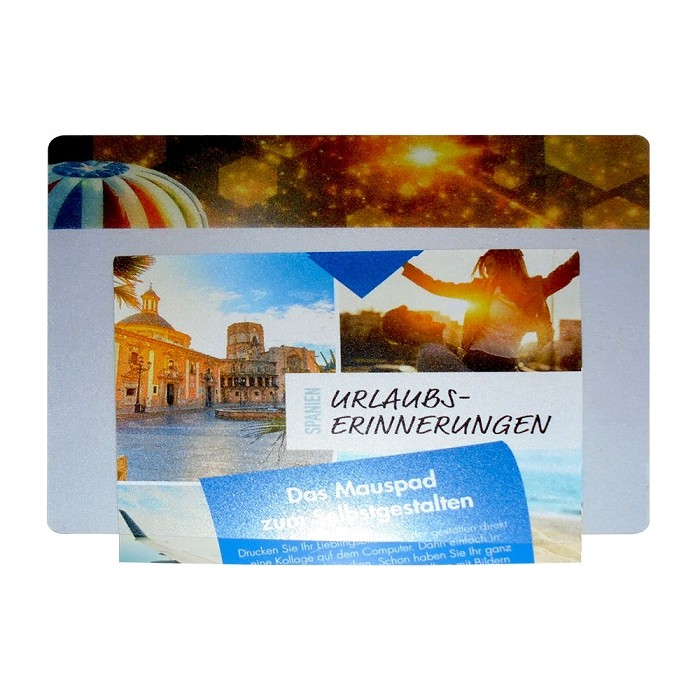 Scanning photo frame optical mouse pad