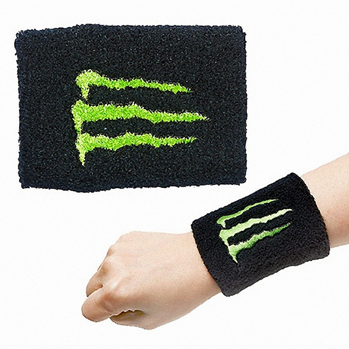 Long wristband sweatband